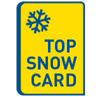 Logo Top Snow Card