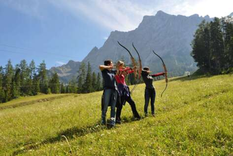 Archery courses in Berwang