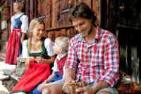 Snack op en Tiroler Alm