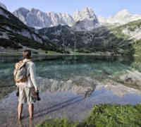 Atemberaubendes Bergpanorama am Seebensee